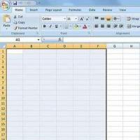 Как делать таблицы в excel